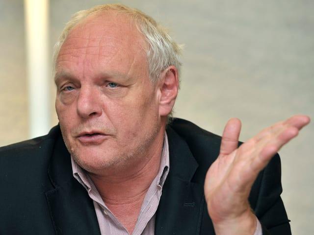 David Hiler (GPS) Vizepräsident des Regierungsrates