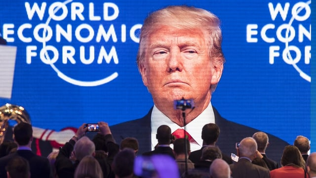 Donald Trump am WEF 2018 in Davos.