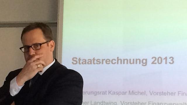 Finanzdirektor Kaspar Michel Kanton Schwyz.
