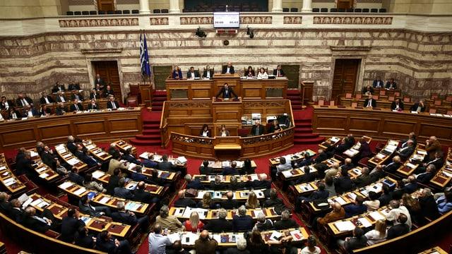 Parlamentssaal.
