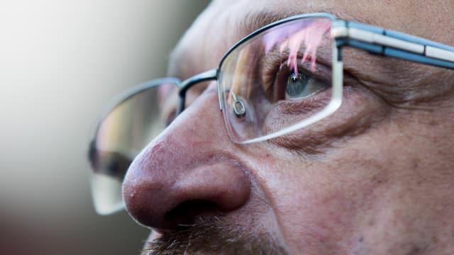 purtret da la fatscha da Martin Schulz fitg datiers