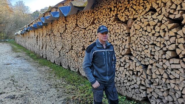 Gefälltes Holz