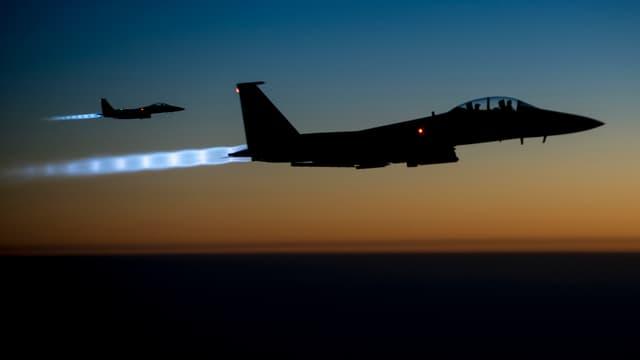 Flugzeug der amerikanischen Luftwaffe