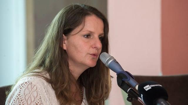 La deputada da la PS dal Tessin, Lisa Bosia Mirra.