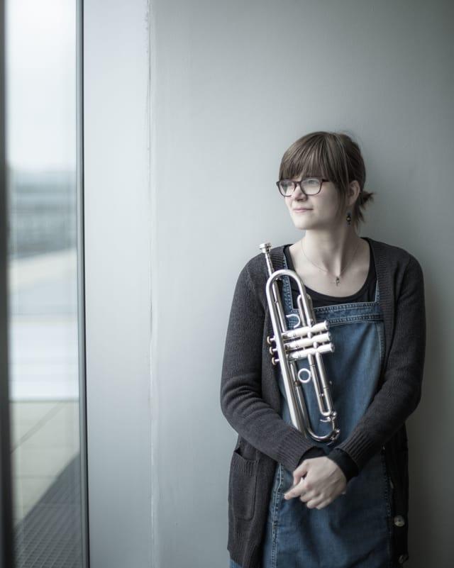 Trompetistin Laura Jurd.