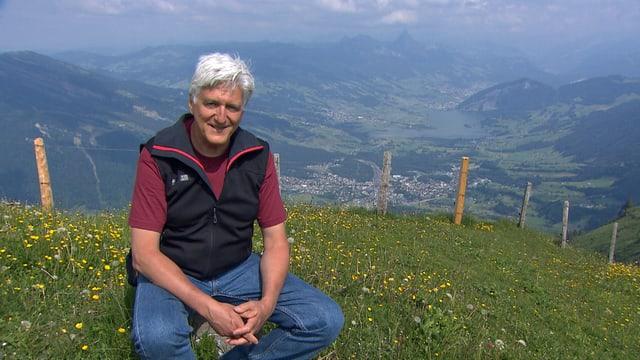 Moderator Biologe Andreas Moser