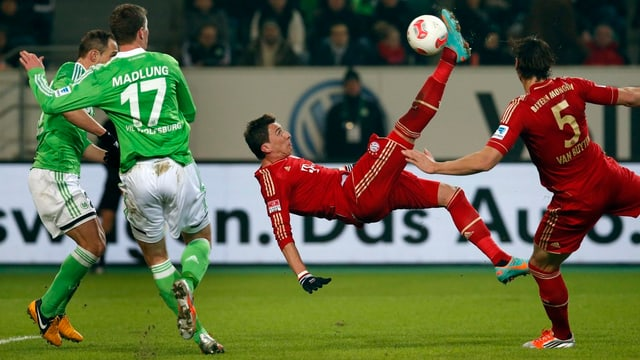 Mario Mandzukic trifft spektakulär gegen seinen Ex-Verein.