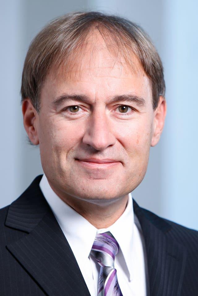 Portrait von ETH-Professor Markus Gruss