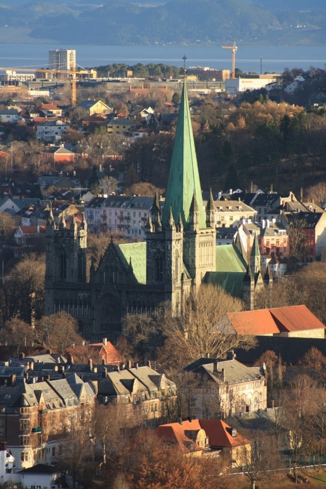 Bild des Domes von Trondheim.