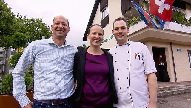 Video «Kanton Zürich – Tag 2 – Restaurant Auenstube, Bassersdorf» abspielen
