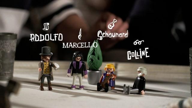 Playmobil-Figuren erklären «Turandot».