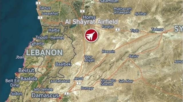 Der Angriff fand in der Region Homs statt.