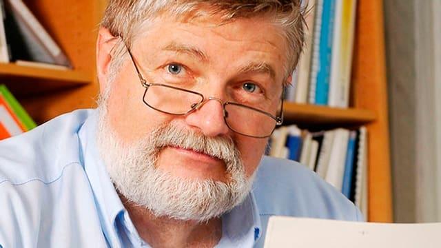 Porträt von PD Dr. med. Albert Wettstein.