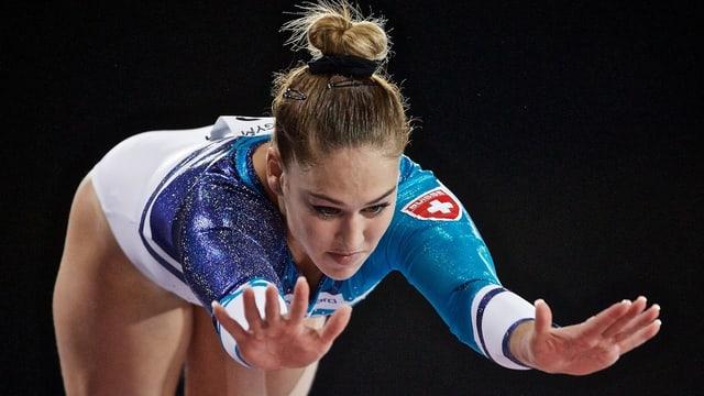Nach drei Jahren kann Giulia Steingruber wieder einmal am Swiss Cup im Hallenstadion antreten.