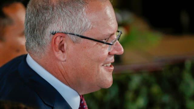 Stand in der Kritik wegen seiner Familienferien: Scott Morrison.