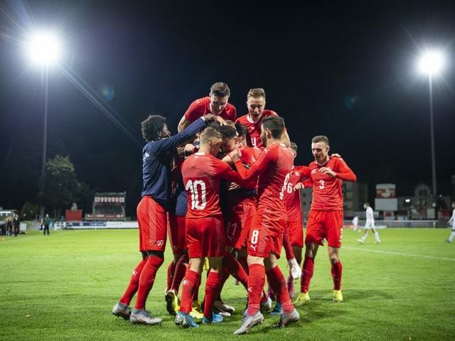 Kann die Schweizer U21 auch gegen die Franzosen jubeln?