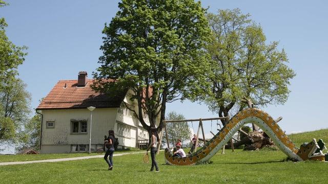 Das Kinderdorf Pestalozzi.
