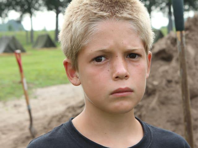 Ein Porträt des Jungen Bryce.