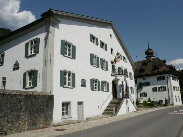 Aussenansicht des Haus Rosengarten in Grüsch.