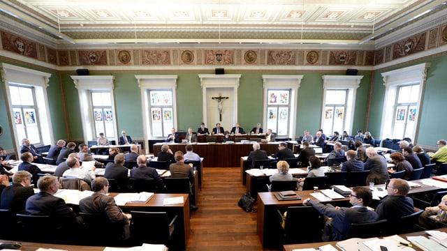 Debatte im Zuger Kantonsrat