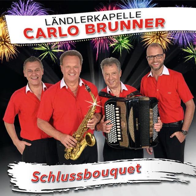 CD-Cover mit vier Ländlermusikanten.