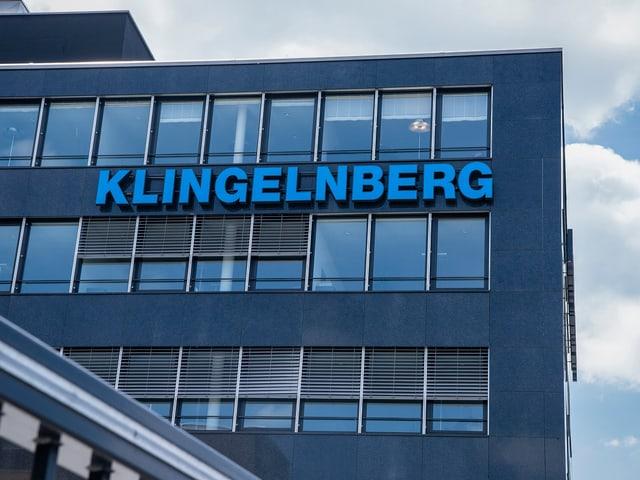 Bürogebäude der Klingelnberg in Oerlikon.