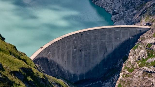 Das Grosswasserkraftwerk Linth-Limmern im Glarnerland.