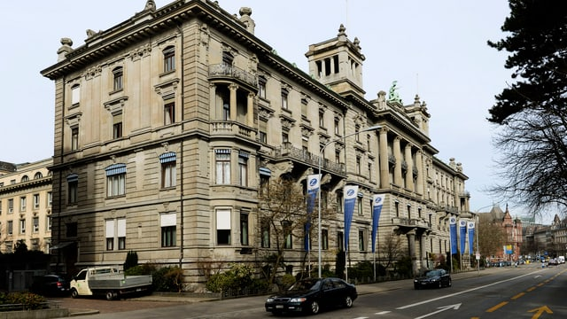 Hauptsitz des Zurich Versicherungskonzern in Zürich.