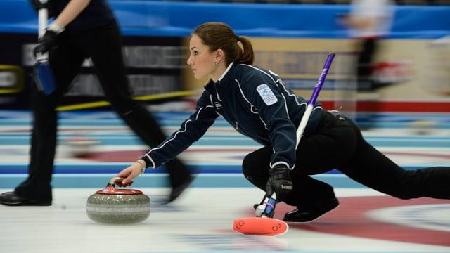 Anna Sidorowa führte Russland zu EM-Gold.
