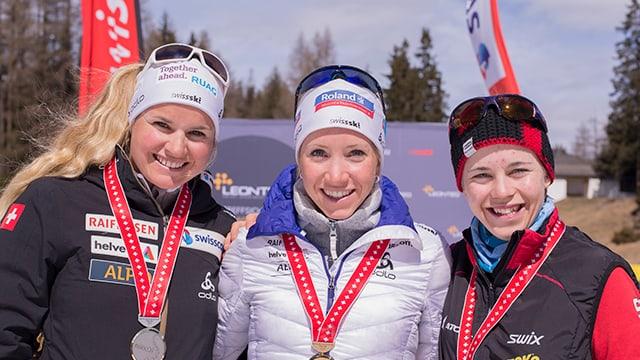 Irene Cadurisch, Elisa Gasparin, Susi Meinen da san: