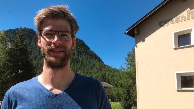 Fabio Maissen sa participescha sulet al gigatlon