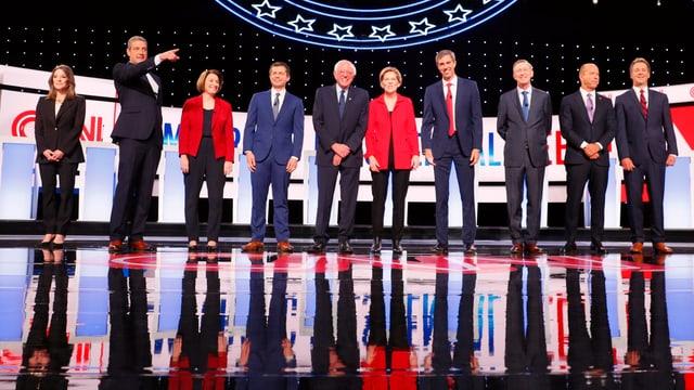 Die Kandidaten.