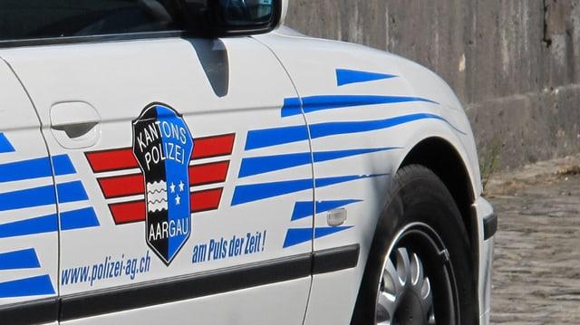 Streifenwagen der Aargauer Kantonspolizei