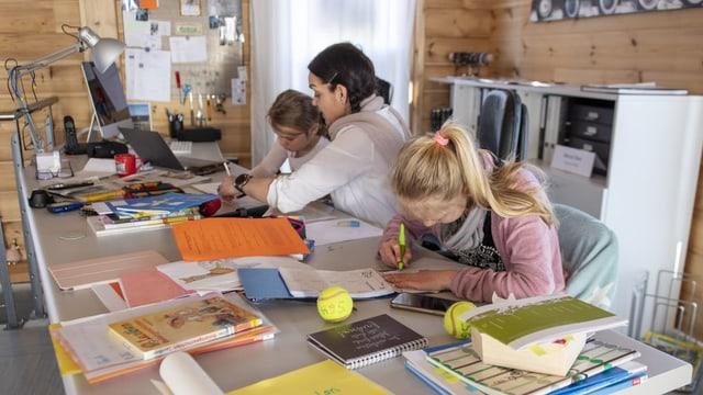 Homeschooling: Las fadias dals uffants