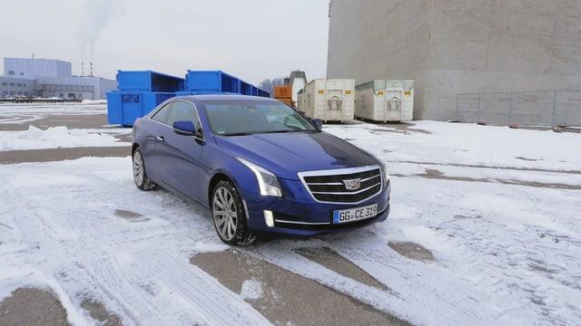 Video «Cadillac ATS Coupé, Funboost-Challenge, C wie Chiptuning» abspielen