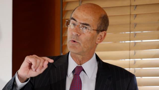 Patrick Kron, Chef des französischen Alstom-Konzerns
