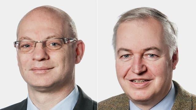 Porträt der beiden