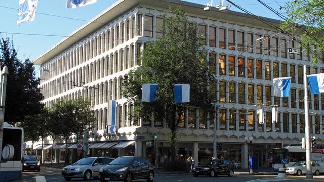 Gebäude (Hauptsitz) der Luzerner Kantonalbank.