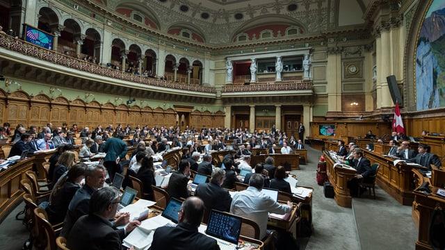 Aufnahme des Nationalratssaals
