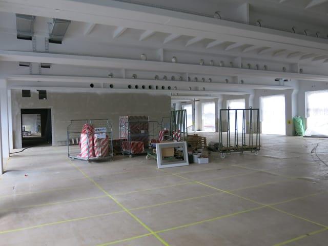 Baustelle in der Viscosistadt.