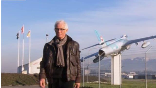 Der ehemalige Chef der Luftwaffe und Gripen-Befürworter, Markus Gygax…