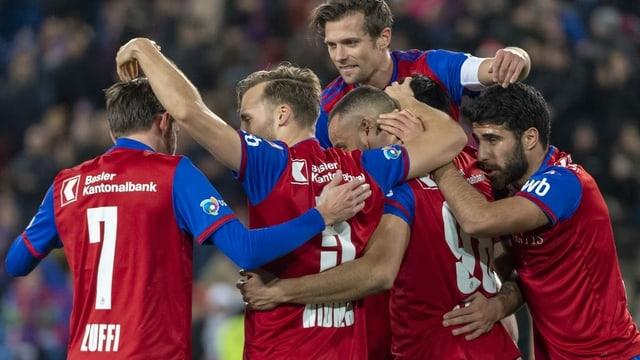 Nach Machtdemonstration: Basel bleibt Sion-Schreck
