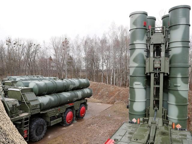 Teile des russischen Raketenabwehrsystems