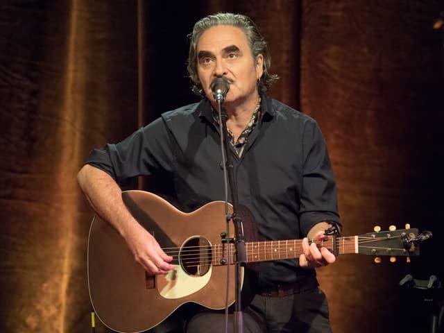 Musiker Stephan Eicher.