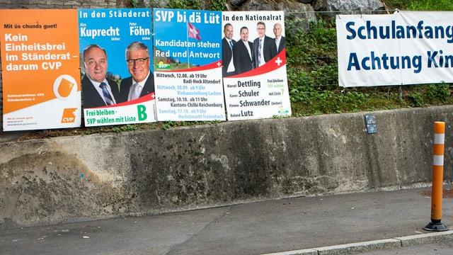 Il cumbat electoral va plaunsieu en la fasa finala.