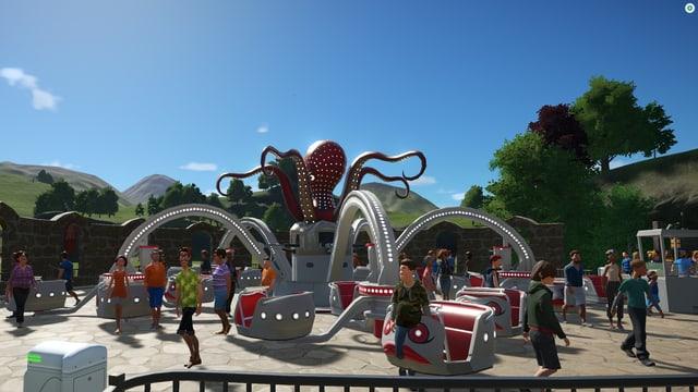 Eine Octobusbahn.