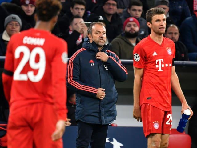 Bayern-Interimscoach Hansi Flick.