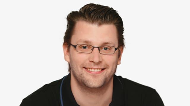 Ein Porträt von Simon Christen.
