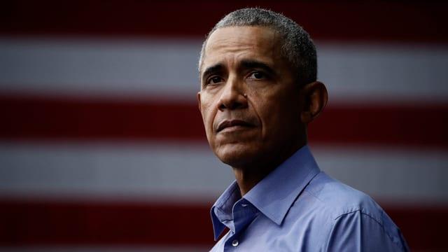 Barack Obama in Nahaufnahme.