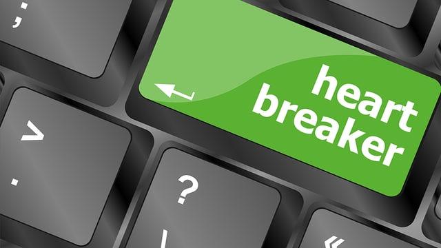 """Tastatur mit Aufschrift """"Hearbreaker"""""""